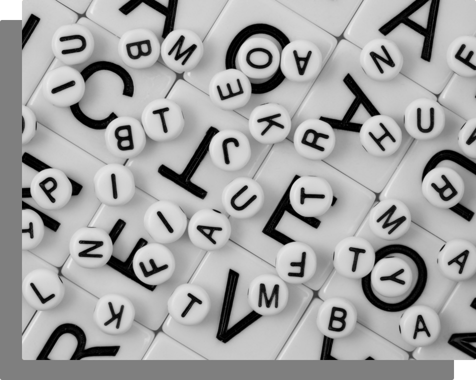 word game pieces