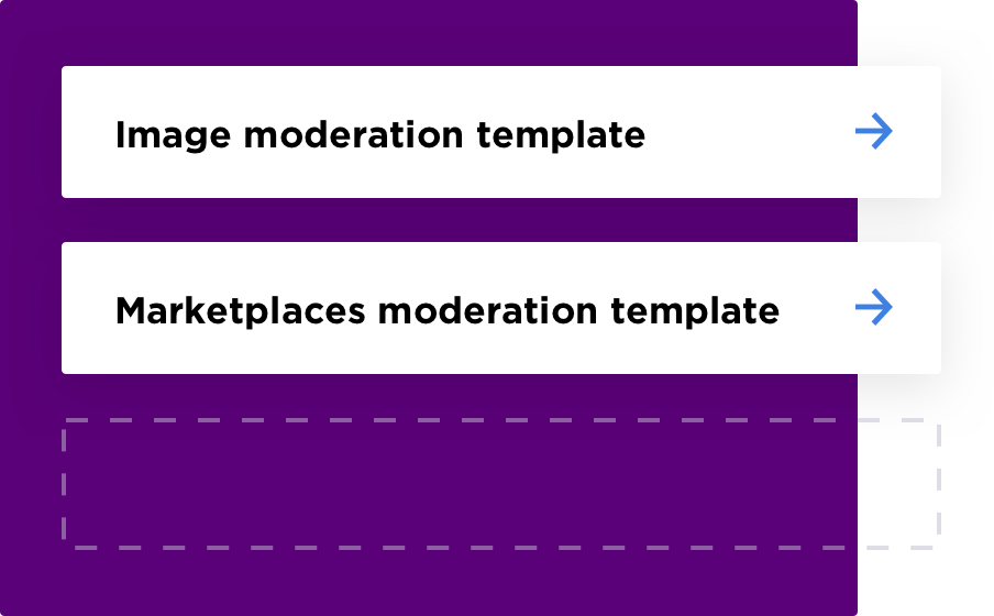 moderation template graphic