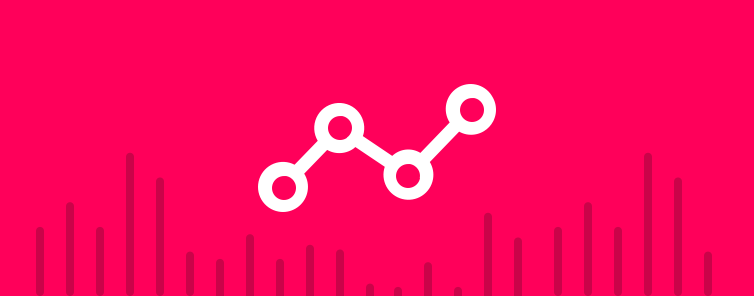 point graph analytic icon