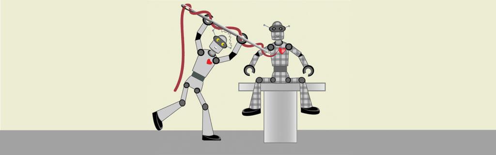 a robot building another robot