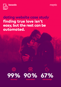 Case study - dating website Meetic