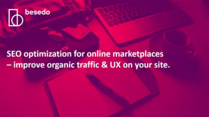 Webinar - optimize SEO on your online marketplace