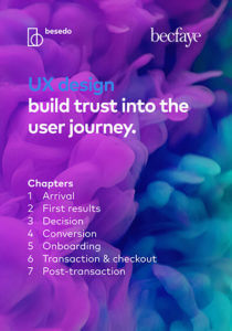 Guide: UX design - build trust into the user journey