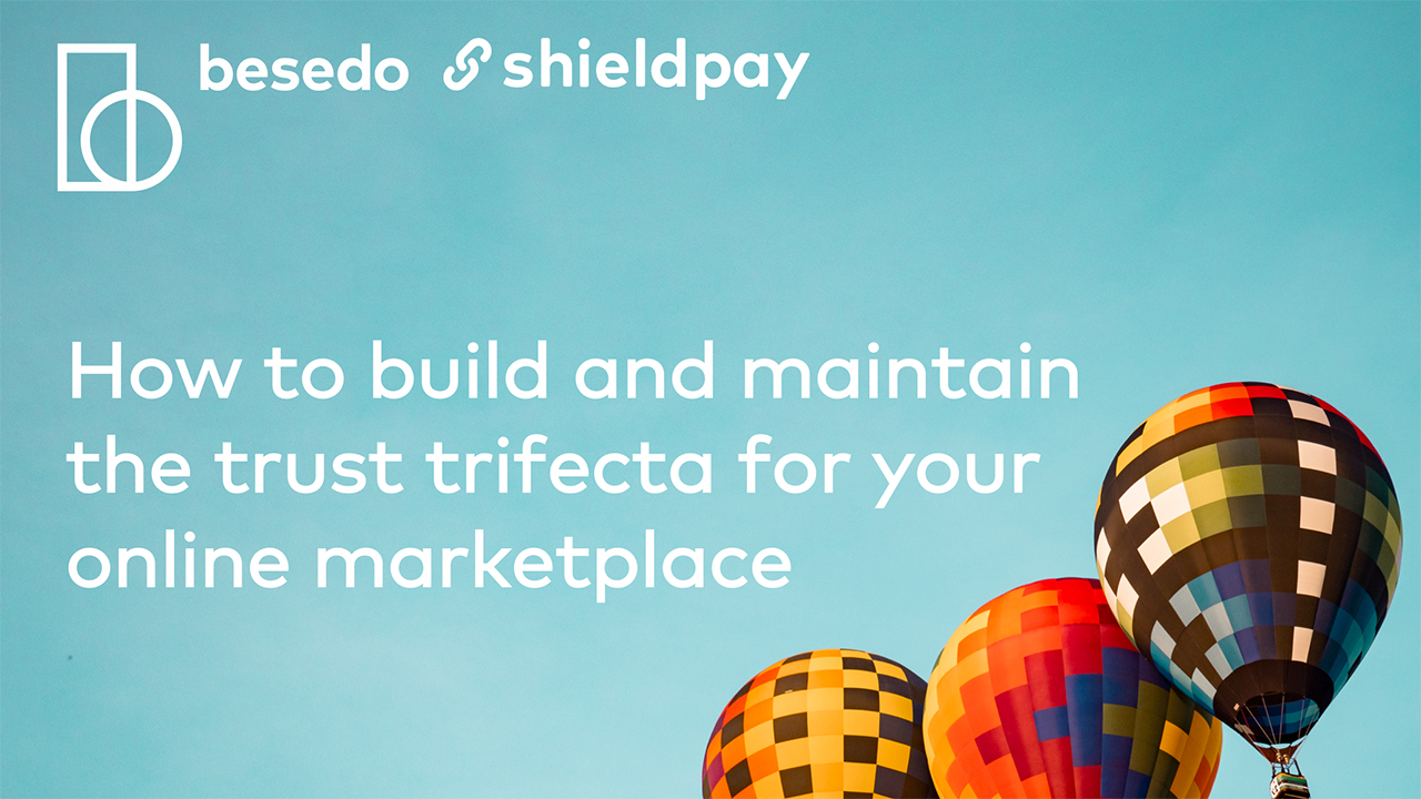 Webinar - how to build trust on online marketplaces