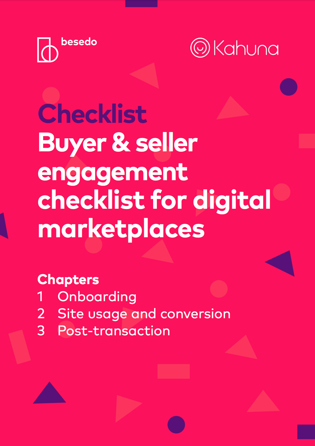 buyer & seller engagement checklist for digital marketplaces