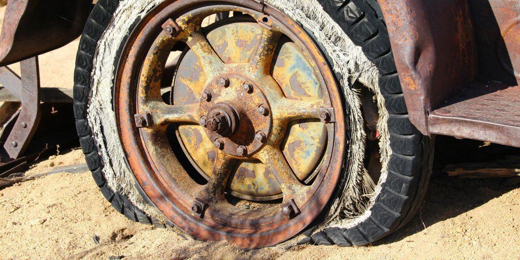 Very broken wheel
