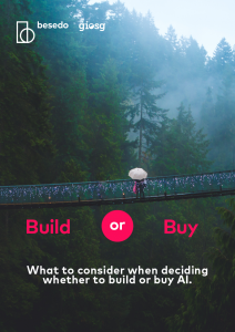 Checklist - build or buy ai