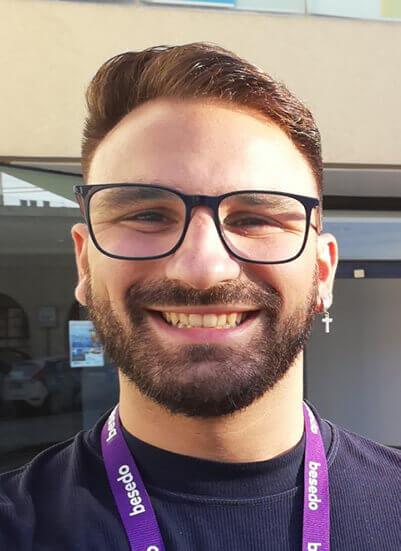 Content moderator besedo - Michele Panarosa
