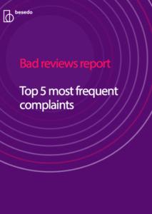 Bad reviews report