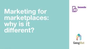 marketing for marketplace webinar