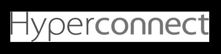 Hyperconnect logo greyscale